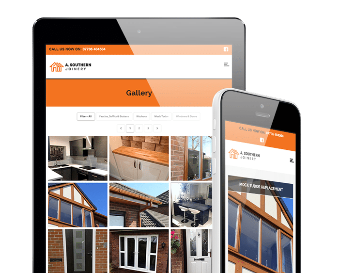 bolton web design a southern joinery