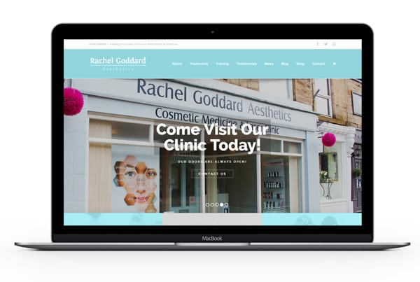 Rachel Goddard Website